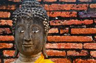 Stock Photo of Buddha's head