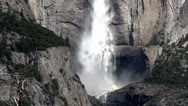 "Stock Video Footage of ""Yosemite Falls"", Yosemite NP, California (Spring)"