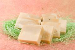 exquisite handmade soap - stock photo