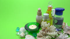 Spa product  presentation Stock Footage