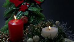 Xmas decoration part 2 Stock Footage