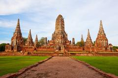 .old temple of thailand - stock photo