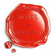 Red made in germany Stock Illustration