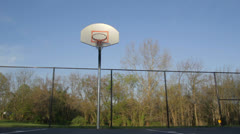 Basketball Court 1 Stock Footage