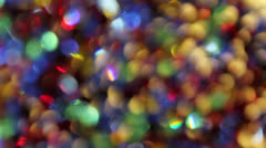 Colorful Moving Dancing Crystal Lights Abstract Background 1080p Stock Footage