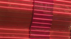 red neon wall loop - stock footage