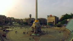 Independence square - stock footage