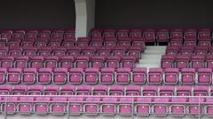Stadium Seats Stock Footage