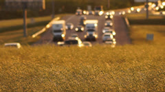 Highway Traffic - stock footage
