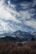 Landscape of mountain Stock Photos