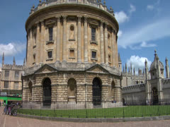 Radcliffe Camera Stock Footage