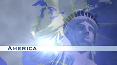 American Icons Stock Footage