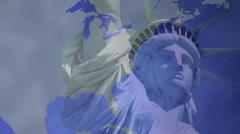 Euro America 3 - stock footage