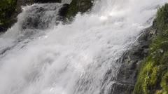Big waterfall Stock Footage