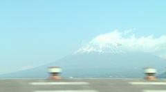 Mount Fuji,train2 Stock Footage