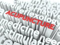 Akupunktio. Piirros