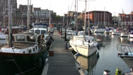 Stock Video Footage of Ramsgate harbor view 03