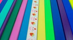 slide binder - stock photo