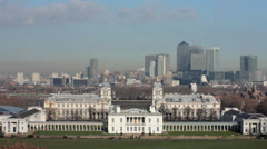 National Maritime Museum.Greenwich. Stock Footage