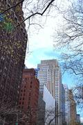 Tudor city, New York - stock photo