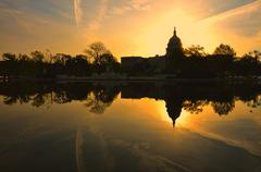 Stock Photo of US Capitol, Washington DC, US in sunrise