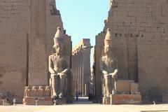 Luxor temple - stock photo
