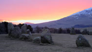 Stock Video Footage of Castlerigg Standing Stones