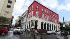 Crossroads in Old San Juan, Puerto Rico Stock Footage