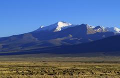 parque nacional sajama - stock photo