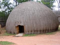 Beehive for tourist accommodation in Swaziland. - stock photo