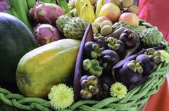 Many fruit Stock Photos