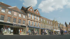 Newbury town centre (3) UK Stock Footage