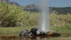 Geyser at Yosemite National Park, California Stock Footage