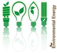 Environmental energy Stock Illustration