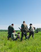 Hunters Stock Photos