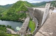 Stock Photo of dam in thailand