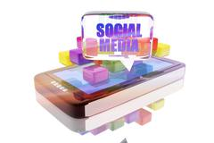 Device of work and digital entertainment Stock Illustration