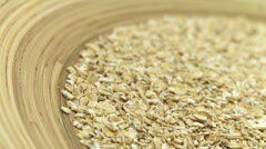 Oat flakes - Small 1 Stock Footage