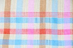 Thai silk fabric Stock Photos