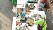 Stock Video Footage of Street food in Thailand