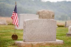 Patriotic grave Stock Photos