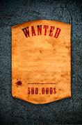 wanted dead or alive. - stock illustration