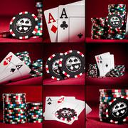Two aces Stock Illustration
