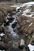 River in andorra la vella Stock Photos
