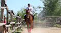 competitions in equestrian Sport 13 HD Footage