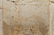 Stone from the western wall Stock Photos