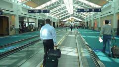 Airport Gate Wing Stock Footage