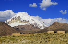 Stock Photo of parque nacional sajama