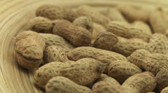 Peanut in shell 1 - stock footage
