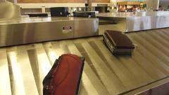 Baggage Claim Luggage Arrival 1 Stock Footage
